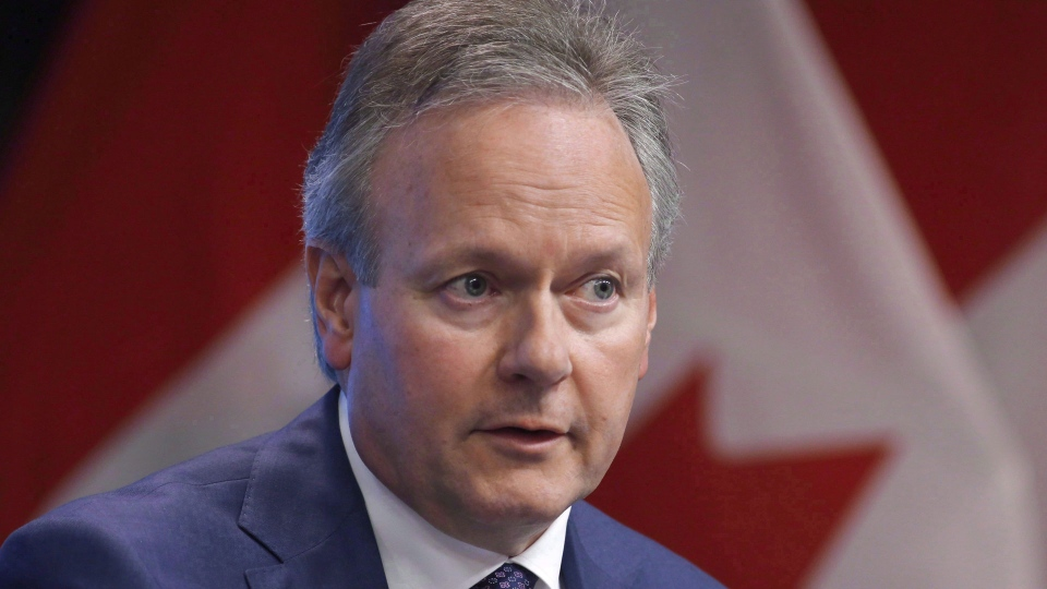 Bank of Canada Governor Stephen Poloz speaks at a press conference in Ottawa on Thursday, June 7, 2018. THE CANADIAN PRESS/ Patrick Doyle