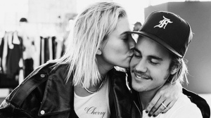 Hailey Baldwin and Justin Bieber are seen in this photo posted to social media. (Instagram / Justin Bieber)