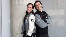 Tessa Virtue and Scott Moir
