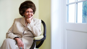 In this Jan. 22, 2013, file photo Cissy Houston poses for a portrait in New York. (Photo by Dan Hallman/Invision/AP, File)