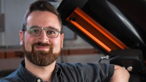 University of Alberta astronomer David Sivakoff says tracing a single neutrino to a black hole four billion light-years distant will give researchers a whole new way to probe the universe's most exotic secrets. Gregory Sivakoff is pictured in a Thursday, June 15, 2016, handout image. THE CANADIAN PRESS/HO-University of Alberta, John Ulan,