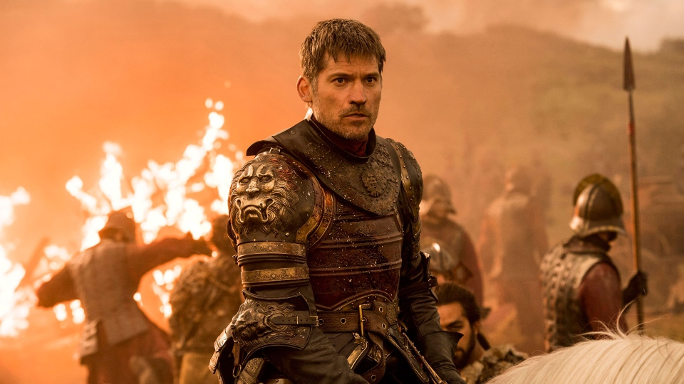 "This image released by HBO shows Nikolaj Coster-Waldau in a scene from ""Game of Thrones.""  (HBO via AP)"