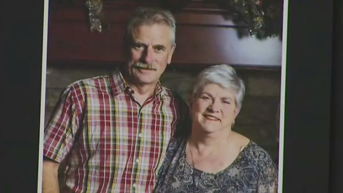 Alan Rutherford, 64, and his wife Carla Rutherford, 64, appear in this undated photo provided to Hamilton Police.