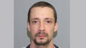 Kris Mateus, 33, is pictured in this handout by Toronto police.