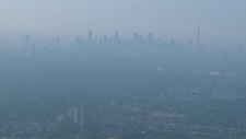humid, Toronto, skyline