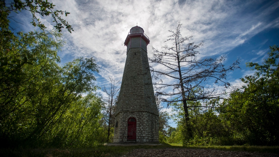The Gibraltar Point Lighthouse on Toronto Island is photographed on Thursday, June 21, 2018. THE CANADIAN PRESS/ Tijana Martin