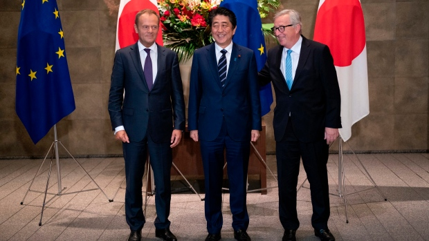 European Union signals free trade commitment with Japan deal