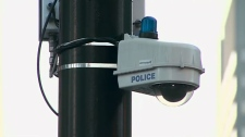 Toronto police security camera