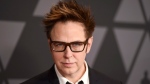 "In this Nov. 11, 2017 file photo, filmmaker James Gunn arrives at the 9th annual Governors Awards in Los Angeles. Gunn has been fired as director of ""Guardians of the Galaxy 3,"" because of old tweets that recently emerged where he joked about subjects like pedophilia and rape. Walt Disney Studios Chairman Alan Horn said in a statement Friday, July 20, 2018, that the tweets are indefensible, and the studio has severed ties with Gunn. (Photo by Jordan Strauss/Invision/AP, File)"