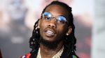 "In this Dec. 13, 2017, file photo, Offset, of Migos, arrives at the U.S. premiere of ""Bright"" at the Regency Village Theatre in Los Angeles. (Photo by Jordan Strauss/Invision/AP, File)"