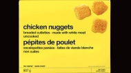 Loblaw is recalling No Name chicken nuggets due to possible Salmonella contamination. (PHOTO: Canadian Food Inspection Agency)
