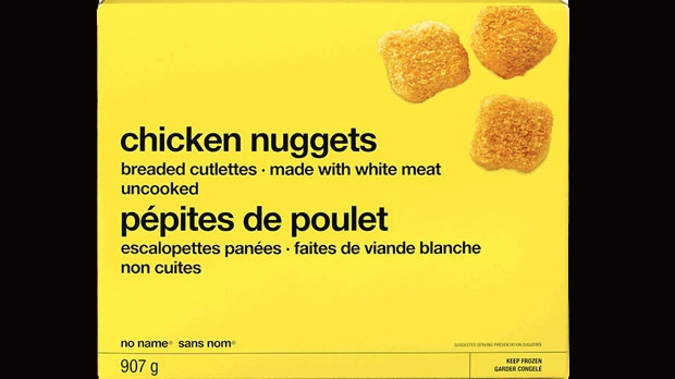 No Name chicken nuggets