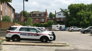 York Regional Police are investigating a suspicious death in Newmarket. (Ted Brooks/ CP24)