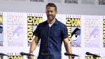 "Ryan Reynolds walks on stage at the ""Deadpool 2"" panel on day three of Comic-Con International on Saturday, July 21, 2018, in San Diego. (Photo by Chris Pizzello/Invision/AP)"
