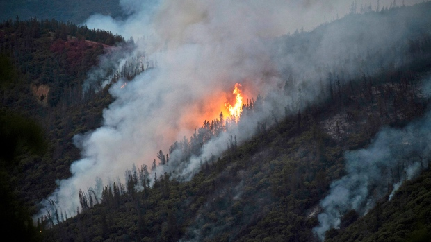 Man arrested for igniting raging wildfire that closed Yosemite