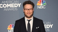 Actor Seth Rogan attends the American Comedy Awards at the Hammerstein Ballroom on Saturday, April 26, 2014, in New York. (Photo by Brad Barket/Invision/AP)
