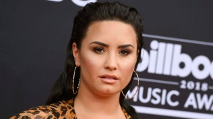 In this May 20, 2018 file photo, Demi Lovato arrives at the Billboard Music Awards in Las Vegas. (Photo by Jordan Strauss/Invision/AP, File)