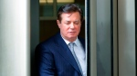 FILE - In this Feb. 14, 2018, file photo, Paul Manafort leaves the federal courthouse in Washington. (AP Photo/Pablo Martinez Monsivais, File)
