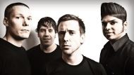 The Billy Talent band in shown in this file photo.