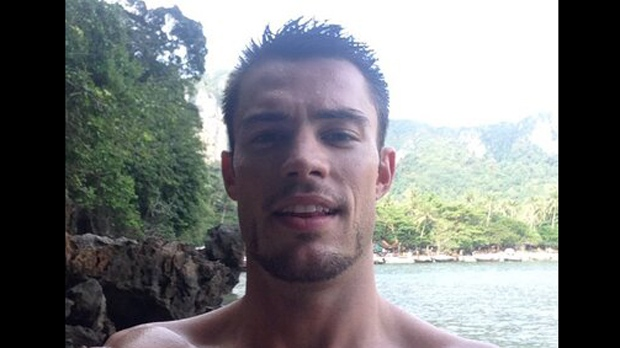 Christopher Marchant, 29, is shown in an image from his Twitter account.