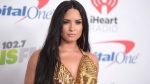 In this Dec. 1, 2017 file photo, Demi Lovato arrives at Jingle Ball at The Forum in Inglewood, Calif. (Photo by Richard Shotwell/Invision/AP, File)