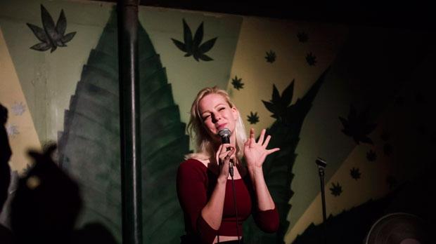 Comedian Sarah Ashby