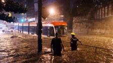 Rainstorm in Toronto