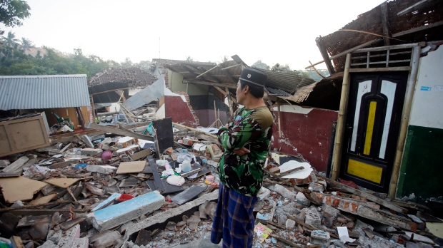 Aftershock measuring 6.2 is third quake to hit Lombok in week class=