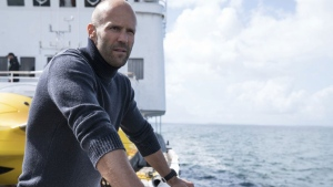 "This file image released by Warner Bros. Entertainment shows Jason Statham in a scene from the film, ""The Meg.""  (Daniel Smith/Warner Bros. Entertainment via AP, File)"
