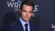 "Chris Pine arrives at the world premiere of ""A Wrinkle in Time"" at the El Capitan Theatre on Monday, Feb. 26, 2018, in Los Angeles. THE CANADIAN PRESS/AP, Jordan Strauss/Invision"