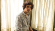 Singer Alexander Stewart poses for a portrait in his Toronto home on Monday, August 13, 2018. THE CANADIAN PRESS/Chris Young