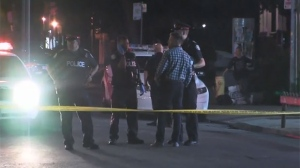 Two men were injured in a stabbing near Isabella and Yonge streets overnight.