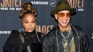 "Singers Janet Jackson, left, and Daddy Yankee attend their ""Made For Now"" single release party at Samsung on Friday, Aug. 17, 2018, in New York. (Photo by Evan Agostini/Invision/AP)"