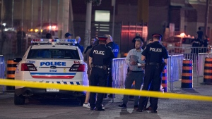 One man is dead following a shooting in Corktown overnight. (John Hanley/ CP24)