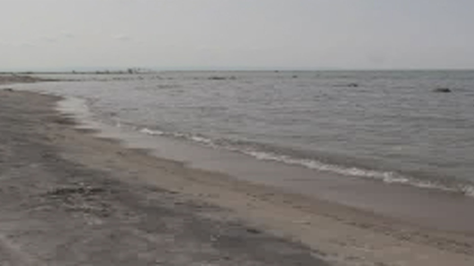 Bluewater Beach off Georgian Bay is pictured.