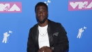 Kevin Hart arrives at the MTV Video Music Awards at Radio City Music Hall on Monday, Aug. 20, 2018, in New York. (Photo by Evan Agostini/Invision/AP)
