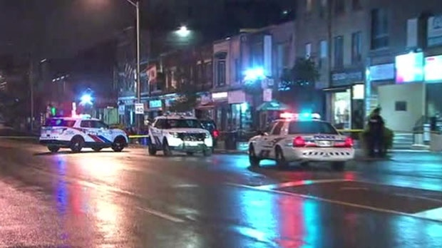 Police are investigating a deadly shooting near Danforth and Langford avenues early Wednesday morning.