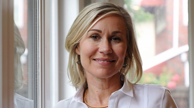 Toronto mayoral candidate Jennifer Keesmaat poses at her central Toronto home on Tuesday Aug. 21, 2018. An urban planner by profession, Keesmaat, 48, was Toronto's chief planner for five years. Polls indicate she poses a credible, if long-shot threat, to incumbent mayor, John Tory. THE CANADIAN PRESS/Colin Perkel
