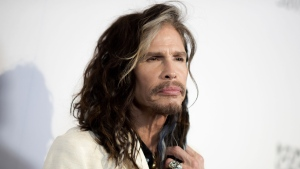 """In this May 7, 2016, file photo, Steven Tyler attends """"To the Rescue: Saving Animal Lives"""" Gala and Fundraiser held at Paramount Pictures Studio in Los Angeles. (Photo by Richard Shotwell/Invision/AP, File)"""