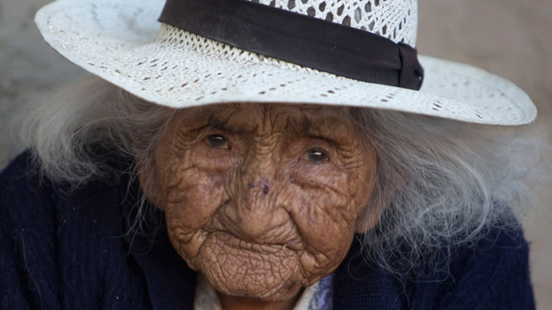 Bolivian oldest woman