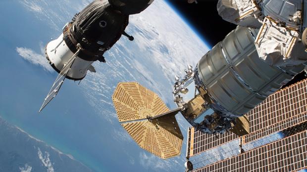 Space Station Crew Repairing 'Micro' Leak Likely Caused By Meteorite Strike