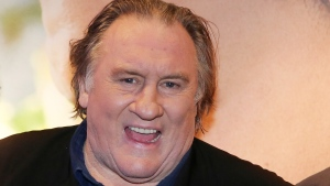 "In this Monday, Nov. 14, 2016 file photo, actor Gerard Depardieu attends the premiere of the movie ""Tour de France"", in Paris. (AP Photo/Thibault Camus, File)"