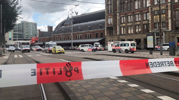 Dutch police still questioning Amsterdam stabbing suspect