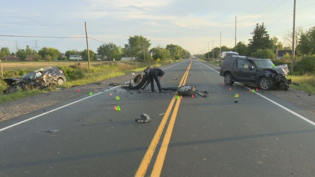 One dead, three injured in Haldimand County collision | CP24 com