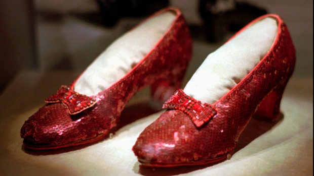 ruby, slippers