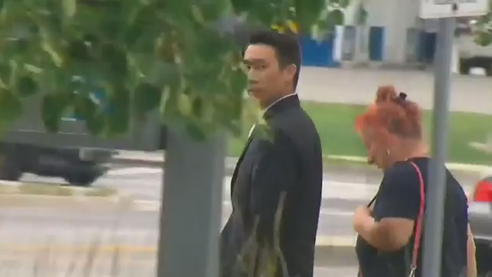 Kenneth Chung is pictured outside a provincial courthouse in Milton Tuesday September 4, 2018.