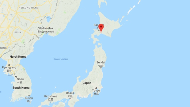 Strong natural disaster strikes near Tomakomai in northern Japan