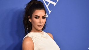 In this June 4, 2018 file photo, Kim Kardashian West arrives at the CFDA Fashion Awards at the Brooklyn Museum in New York. (Photo by Evan Agostini/Invision/AP, File)