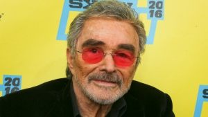 "Burt Reynolds is seen at the world premiere of ""The Bandit"" at the Paramount Theatre during the South by Southwest Film Festival on Saturday, March 12, 2016, in Austin, Texas. (Photo by Jack Plunkett/Invision/AP)"