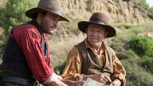 "Actors Joaquin Phoenix (left) and John C. Reilly are shown in a scene from the film ""The Sisters Brothers."" THE CANADIAN PRESS/HO-TIFF MANDATORY CREDIT"